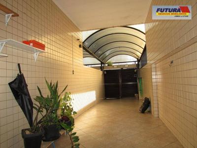 Casa Com 3 Dormitórios À Venda, 76 M²- Vila Voturua - São Vicente/sp - Ca0394