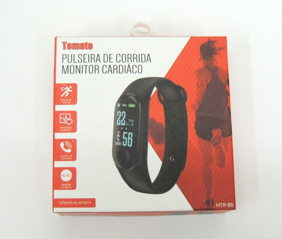 Relogio Inteligente Tomate Mtr-06 Mi Band 3 Android Ios