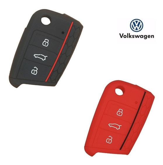 Capa Chave Acessórios Vw Volkswagen Novo Polo Golf Mk7