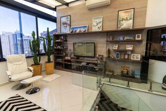 Flat No Itaim Cobertura Duplex, Com 02 Dorms (01 Suite), Para Morar Ou Investir - Sf29173