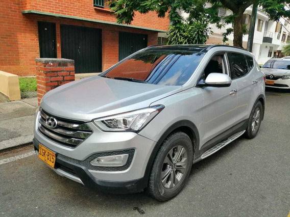 Hyundai Santa Fe Gls 2015 Mec Techo Vidrio