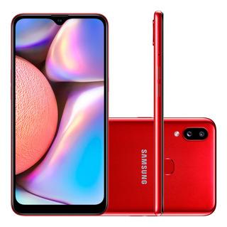 Smartphone Samsung Galaxy A10s 32gb Câmera 13mp+2mp Vermelho