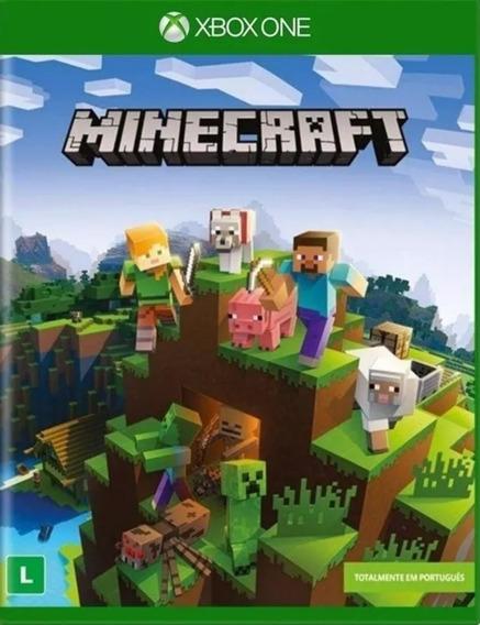 Jogo Game Minecraft Em Português Xbox One Novo