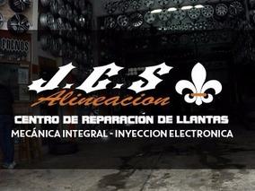 Reparacion Llantas Aleación,chapa Y De Motos Jcsalineacion