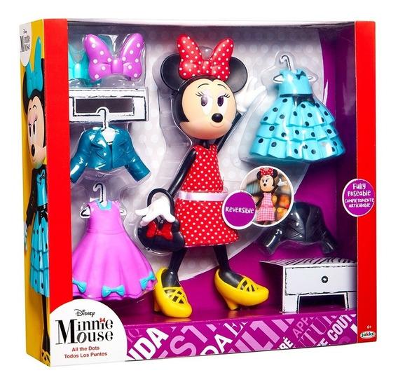 Muñeca Minnie Con Set De Vestidos