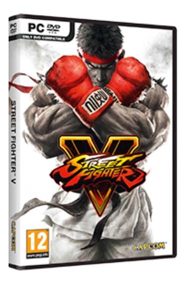 Street Fighter V Championedition - Pc Dvd Frete 8 Reais