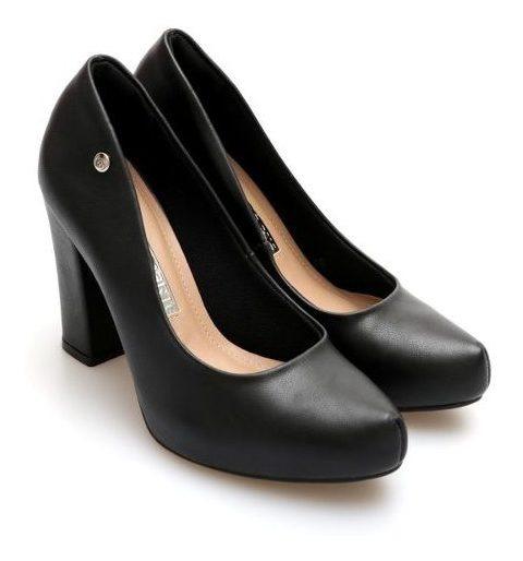 Zapatos Stileto Via Marte Plataforma Escondida 1cm Taco Palo