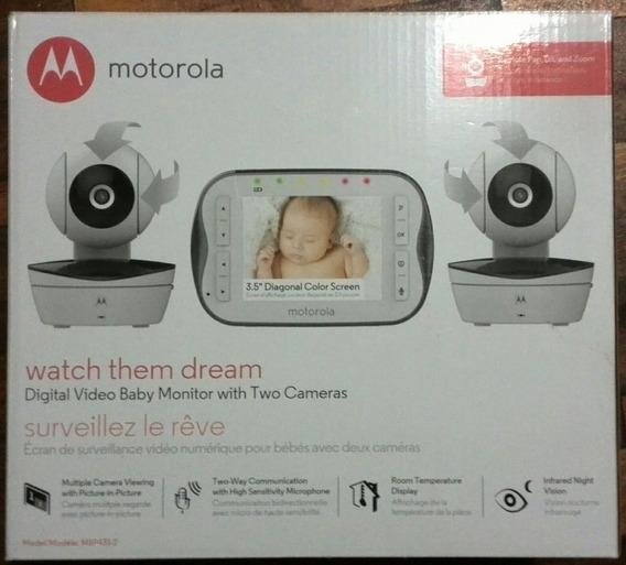 Monitor De Vigilancia Para Bebes Motorola Con 2 Cámaras