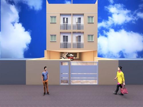 Imagem 1 de 8 de Aptos Tipos E Coberturas Em Construção Vila Pires! - Ap02562 - 68176838