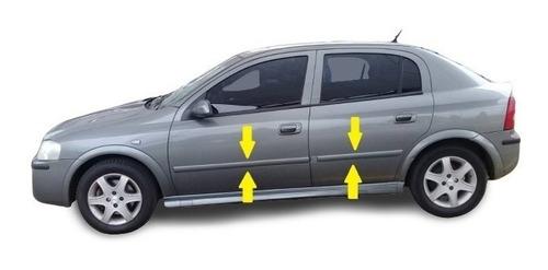 Baguetas Molduras Chevrolet Astra 5 Puertas Para Pintar