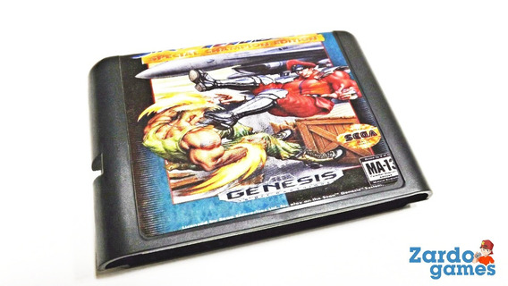 Street Fighter 2 Special - Mega Drive - Funcionando