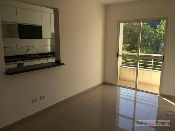 Apartamento 57 M², 02 Dormitórios, Sacada, 1 Vaga + Depósito, Km 28 Da Raposo Tavares, Cotia - Ap0115