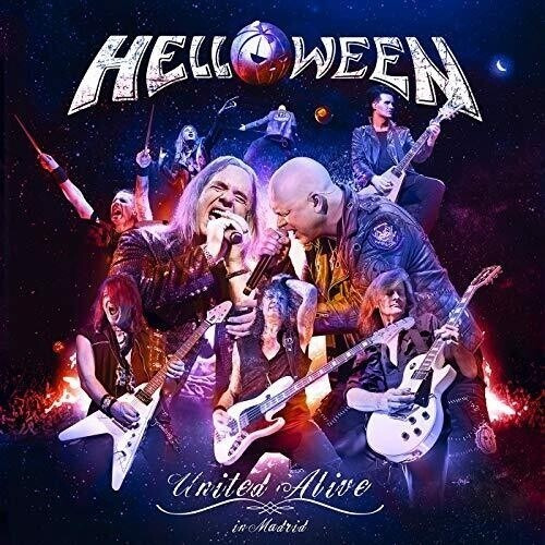 Helloween United Alive 2 Bluray Nuevo 2019 Importado