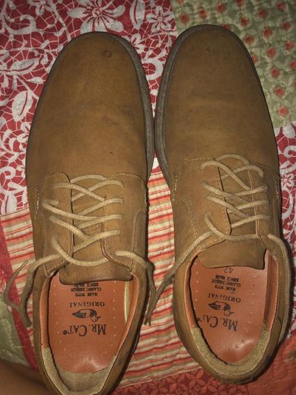 Sapato Social Masculino Marrom Tam 42