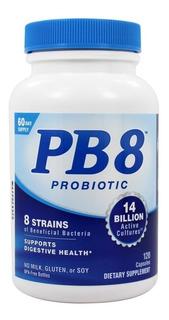 Pb8 Probiotico 120 Capsulas Formula Eua - Pronto Entrega