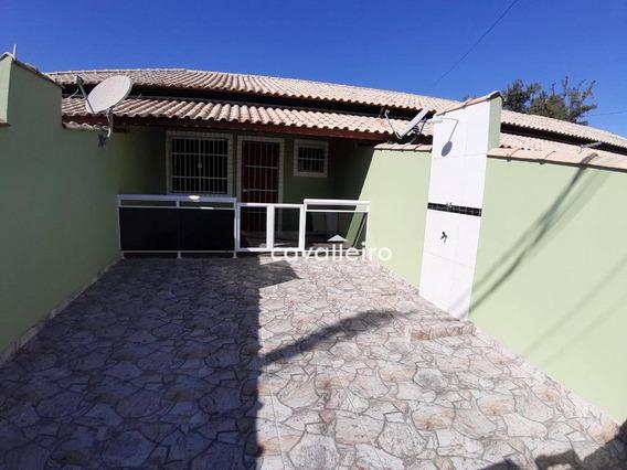 Vá A Pé A Praia, Casa Com 1 Dormitório À Venda, 55 M²- Guaratiba - Maricá/rj - Ca3663