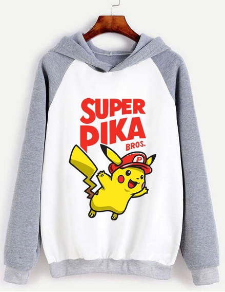 Buzo Unisex Super Pikachu