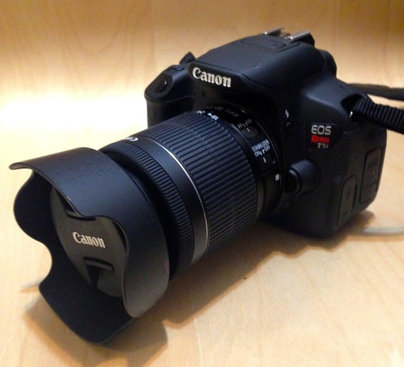 Canon T5 + Lente 50mm Yongnuo