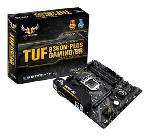 Placa Mãe Asus Intel 1151p Tuf B360m-plus Gaming/br Nova