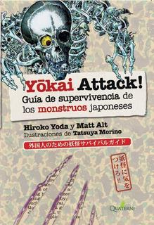 Libro Yokai Attack Guía Supervivencia Monstruos Japoneses