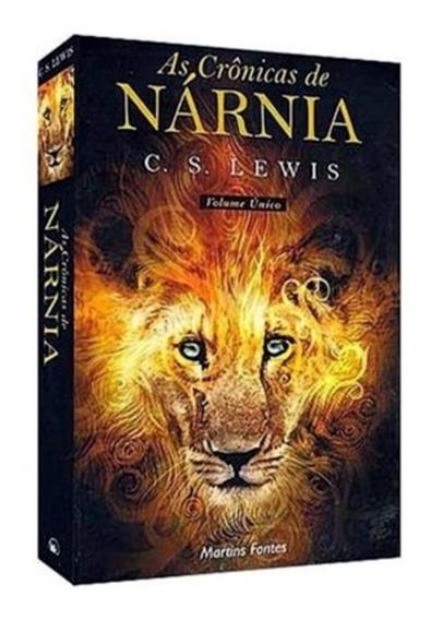 As Crônicas De Nárnia C. S Lewis Volume Único + Frete Grátis