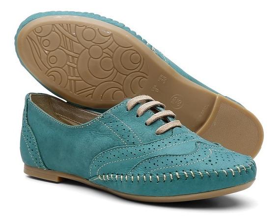 Sapato Feminino Oxford Casual Lançamento Promoção 015360