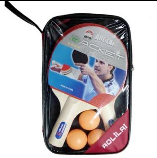 Juego De Raquetas Con Pelota Tenis De Mesa O Ping Pong