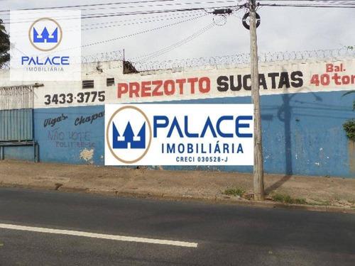 Barracão Para Alugar, 667 M² Por R$ 25.000,00/mês - Chácara Nazaré - Piracicaba/sp - Ba0017