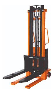 Apilador Elevador Manual Hidraulico Lusqtoff 1000 Kg 1,6 Mts