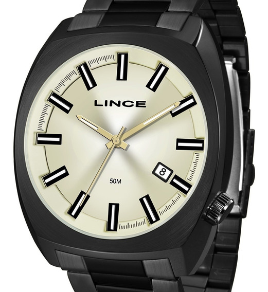 Relógio Lince Masculino Prata Mrn4584s C1px Original + Nota