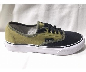 Zapatillas Airwalk Ntl Verde Militar Liquidación !