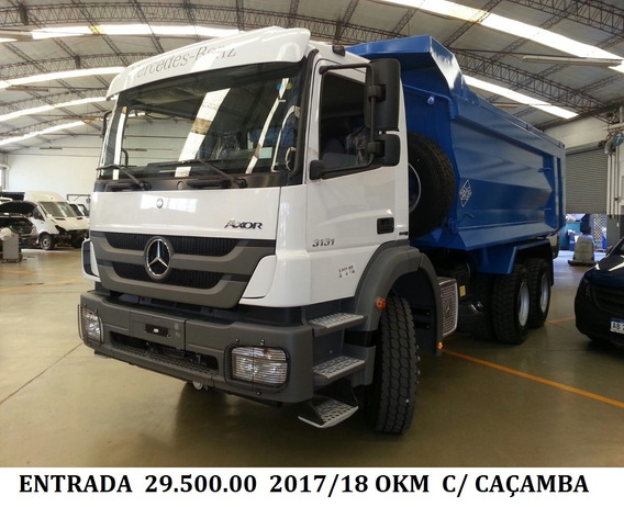 Mb Axor 3131 K 2019 Okm + Caçamba
