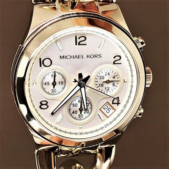 Relógio Pulso Feminino Michael Kors Aço Dourado Mk3131