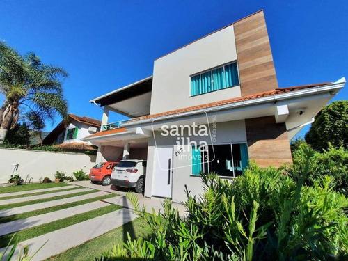 Imagem 1 de 30 de Casa Com 5 Dormitórios À Venda, 380 M² - Ribeirão Da Ilha - Florianópolis/sc - Ca2987