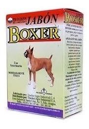Jabon Boxer Antipulgas Y Garrapaticida