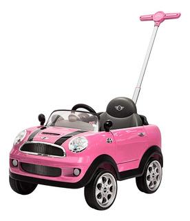 Carro Montable Mini Cooper Push Car Prinsel + Guiador Niño