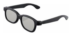 Oculos 3d Universal Polarizado Passivo Tv/projeto Kit 3 Unid