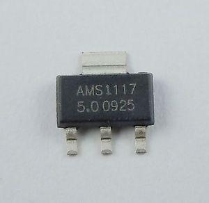 Regulador Tensão Ams1117 5v 1a Ams1117-5.0