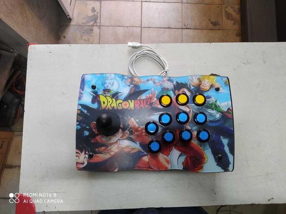 Controle Arcade Usb Para Tv Box E Raspberry