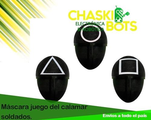 Imagen 1 de 3 de Máscaras Del Juego Del Calamar. Impresión 3d