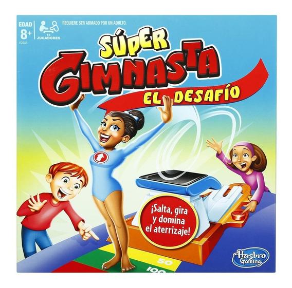 Juego De Mesa Super Gimnasta El Desafio - Hasbro