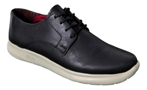 Zapato De Cuero Hombre Campus 7552 Cordón Liviano Oxford
