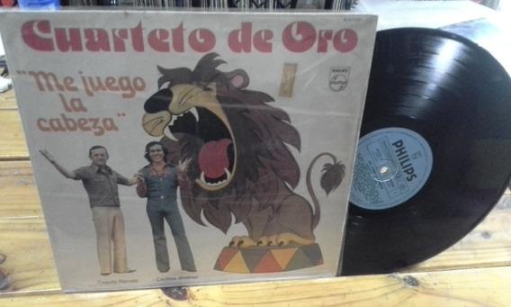 Mona Jimenez Cuarteto De Oro Me Juego La Cabeza 77 Lp Vinilo
