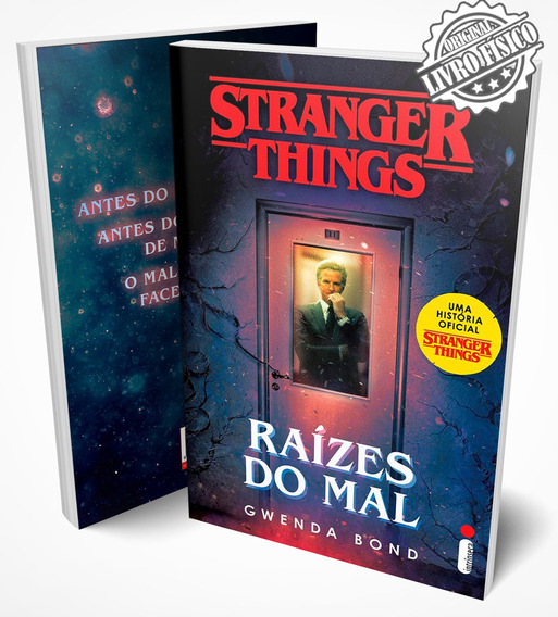Livro Stranger Things: Raízes Do Mal - Vol. 1 #netflix