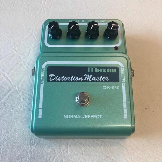 Pedal Maxon Distortion Master Ds-830 Japão