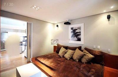 Flat Residencial Para Locação, Vila Nova Conceição, São Paulo. - Fl2200
