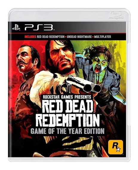 Red Dead Redemption Goty - Ps3 - Original - Física - Usado
