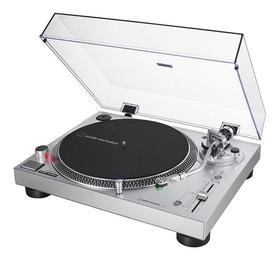Toca-discos Profissional Audio-technica Lp120x Usb Direct-drive
