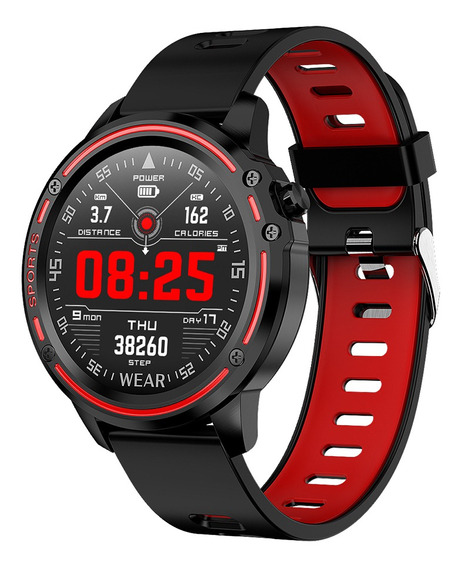 Microwear L8 Ip68 Reloj Inteligente Resistente Al Agua Con