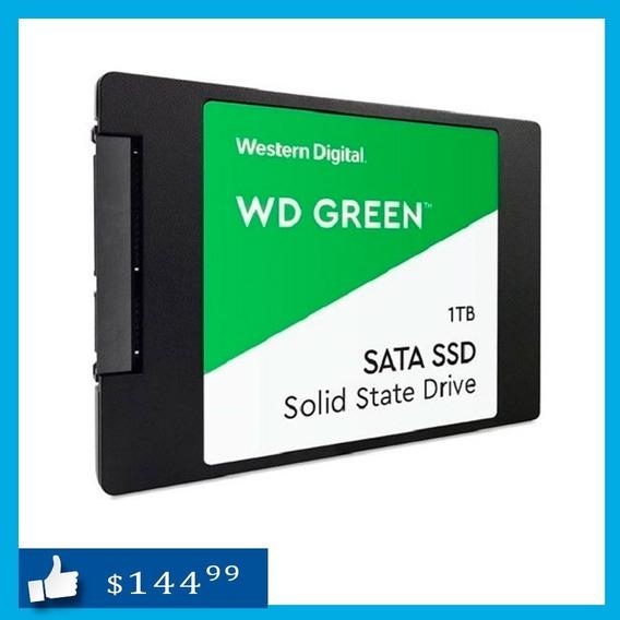 Disco Ssd Solido 1tb Western Digital Green Para Laptop Y Pc